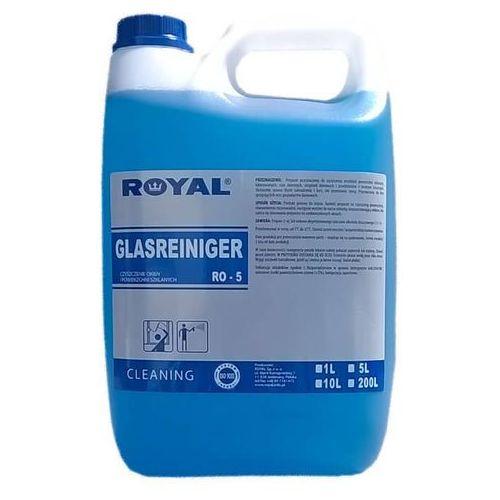 ro-5 glasreiniger 5l preparat przeznaczony do czyszczenia szyb, okien marki Royal