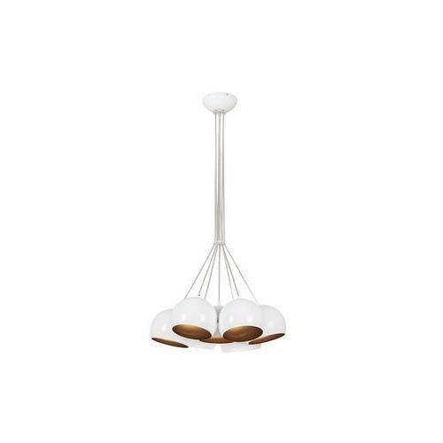 Lampa wisząca Nowodvorski Ball 6604 kule zwis oprawa żyrandol 7x35W GU10 biała/złota, 6604