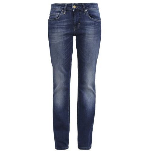 Mustang SISSY STRAIGHT Jeansy Straight leg dark scratched used, bawełna