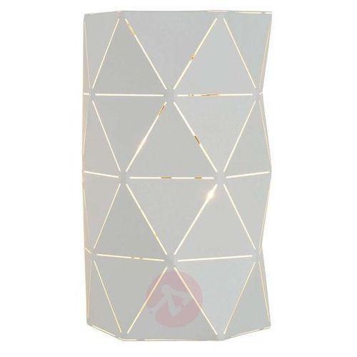 Lucide Otona – graficzna lampa ścienna w kolorze białym (5411212210883)