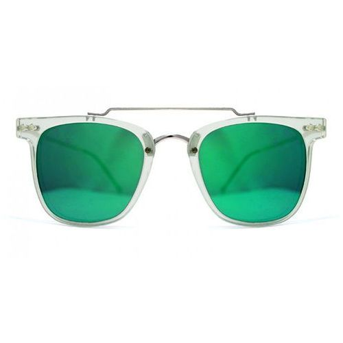 Okulary Słoneczne Spitfire Ftl Select Double Lens Clear/Clear/Green Mirror, kolor zielony