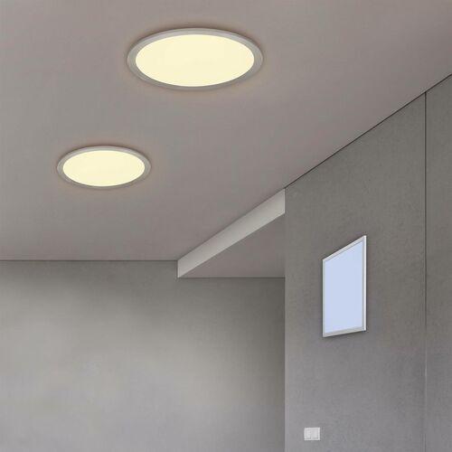 Trio RL Alima R65035987 plafon lampa sufitowa 1x36W LED 3000-6500K tytanowy / biały, kolor Tytan