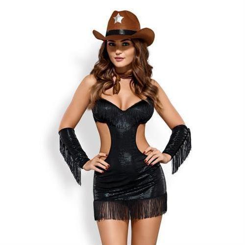 Sheriffia kostium l/xl marki Obsessive (pol)