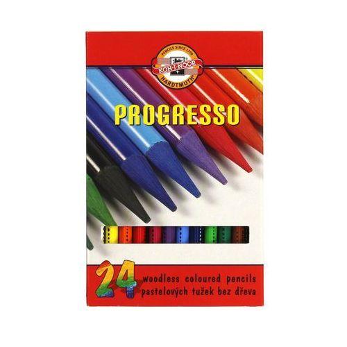 Kredki bezdrzewne 24kol Progresso Koh-I-Noor 8758, AR5216