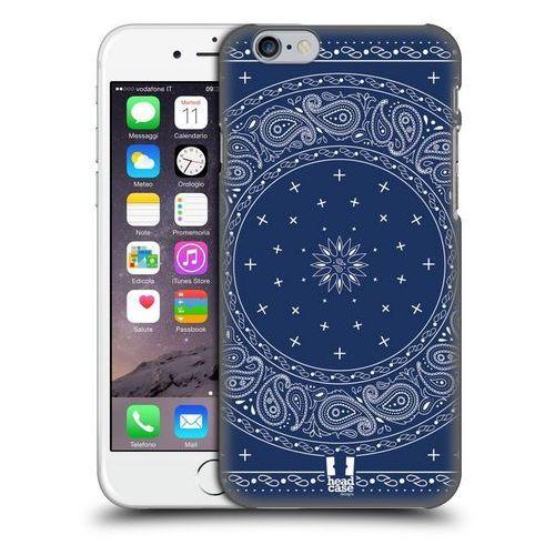 Etui plastikowe na telefon - classic paisley bandana round blue marki Head case