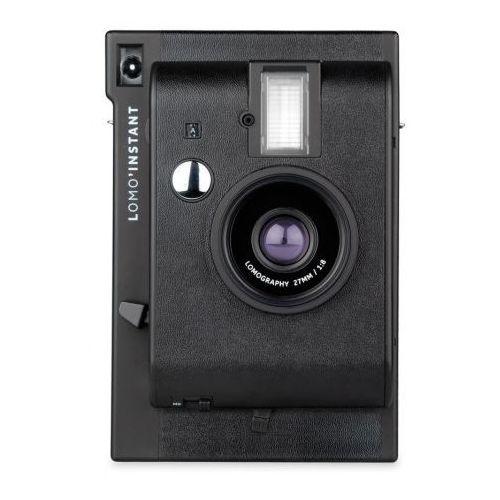 instant aparat black mini typu polaroid na wkłady instax mini marki Lomography