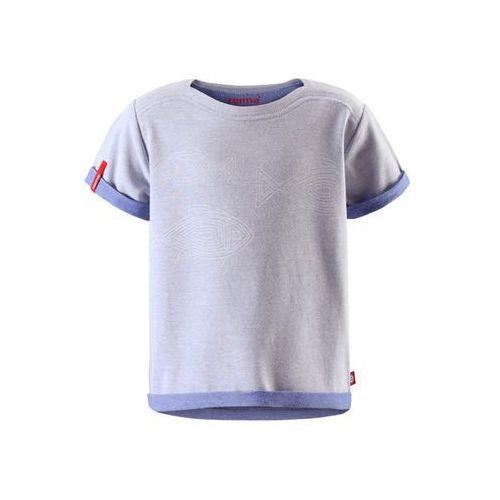 T-shirt koszulka Reima z krótkim rękawem Kippari jasnoniebieski melanż, towar z kategorii: Pozostała moda i styl
