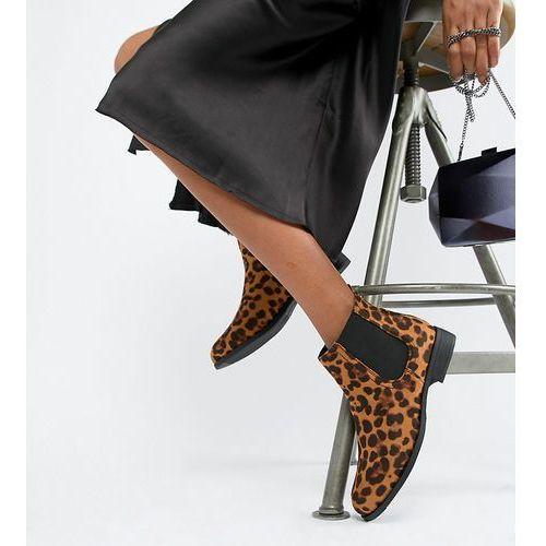 flat leopard chelsea boots - multi marki Park lane