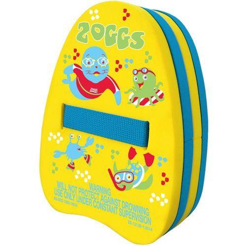 Zoggs back float dzieci żółty/niebieski 2018 akcesoria pływackie i treningowe