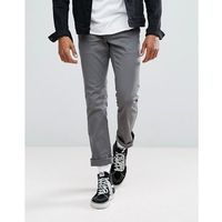 reserve chino in standard fit - grey, Brixton