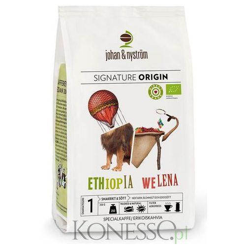 Johan & nyström Kawa ziarnista  ethiopia welena organic plantation 250g (7350045061058)