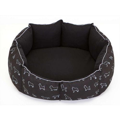 M legowisko nowy york - czarne w psy marki Hobbydog