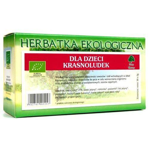 Dary natury - herbatki bio Herbatka dla dzieci krasnoludek bio (20 x 2 g) herbata dary natury (5902741005557)