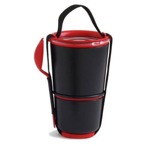 Pojemnik na lunch Lunch Pot jasnoczerwono-czarne