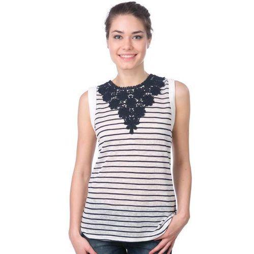 Brave Soul koszulka bez rękawów damska Ebony M biały (2008887040032)
