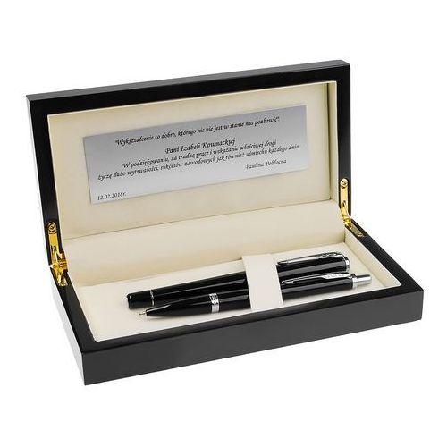 urban pióro i długopis london cab black grawer dedykacja marki Parker