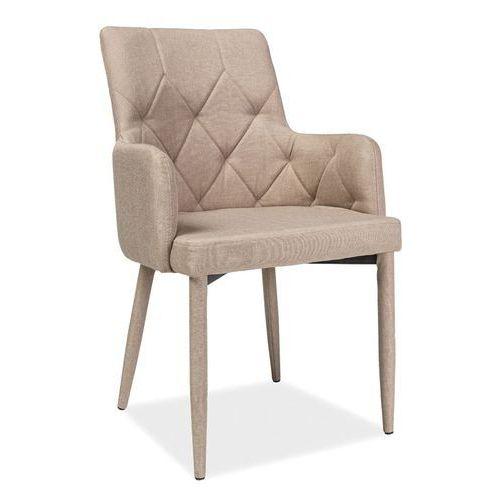 Krzesło Ricardo Beżowy, kolor beżowy