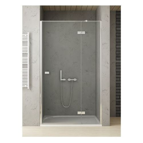 New trendy reflexa 130x200 cm drzwi wnękowe prawa przejrzyste exk-1215 ___zapytaj o rabat!!___
