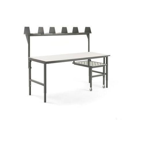 Aj produkty Stół roboczy cargo, z wysuwaną półką, 2000x750 mm, nadstawka
