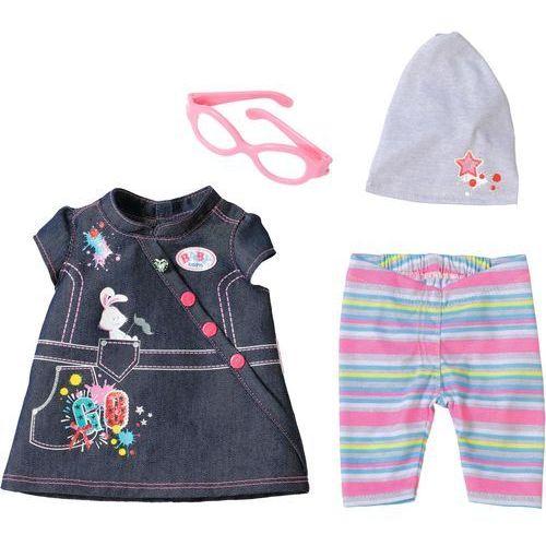 Baby born deluxe jeans collection ubranko dla lalki marki Mga