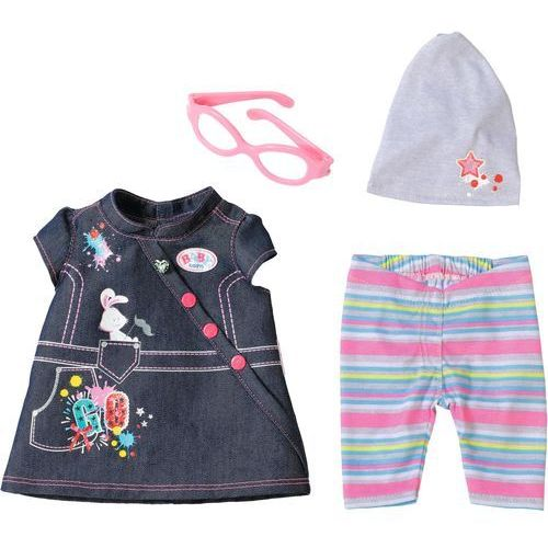 Mga Baby born deluxe jeans collection ubranko dla lalki (4001167822210)