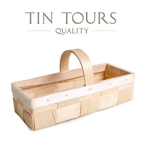 Koszyk na owoce / łuba 27x11x7/10 cm marki Tin tours sp.z o.o.