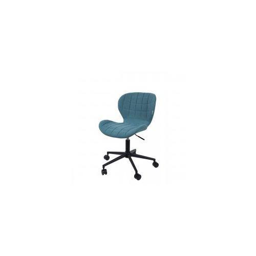 Krzesło biurkowe omg niebieskie - marki Zuiver