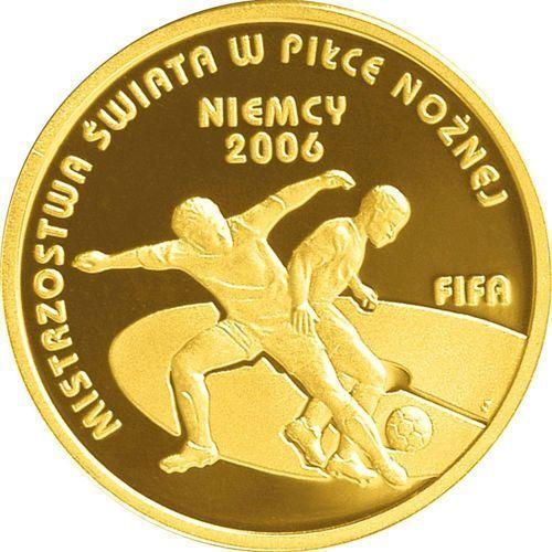 100 zł - mistrzostwa świata w piłce nożnej niemcy - 2006 marki Nbp