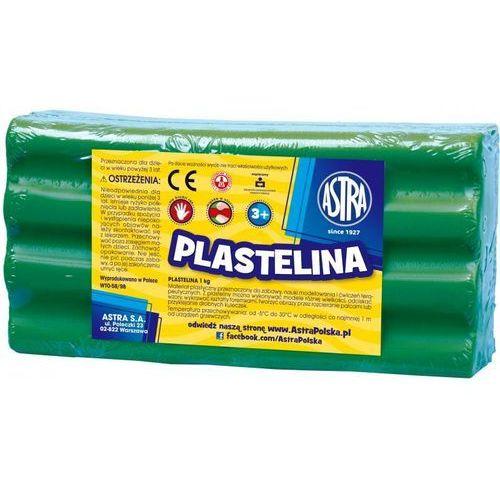 Plastelina Astra 1 kg zielona
