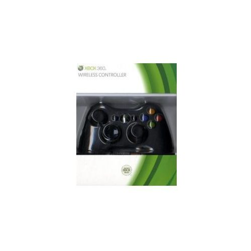Microsoft xbox 360 wireless controller schwarz marki Nbg