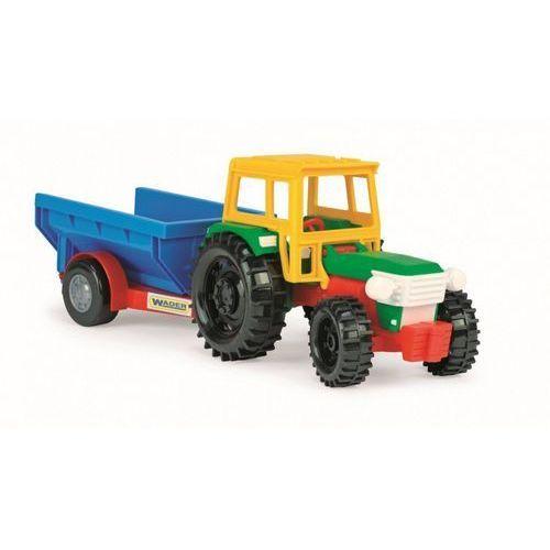 Traktor z wywrotką 38 cm w folii