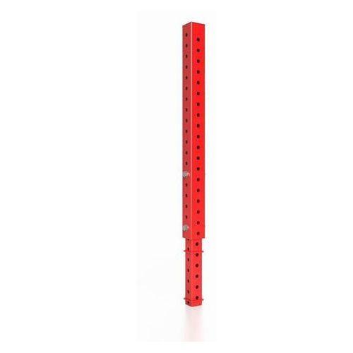 Marbo sport Słup przedłużający 100 cm mft-a017 czerwony połysk - czerwony połysk
