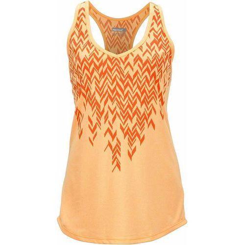 Marmot top sportowy Wm's Layer Up Tank Orangesicle S, kolor pomarańczowy