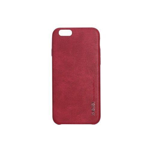 Apple iphone 6 - etui na telefon vintage - red wine marki X-level