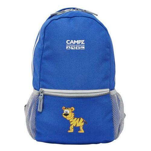 Campz tiger 10l plecak dzieci niebieski plecaki szkolne i turystyczne (4260089014244)