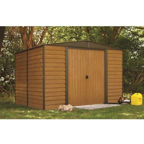 Blaszany domek ogrodowy woodridge 3,1 x 2,4 m marki Arrow