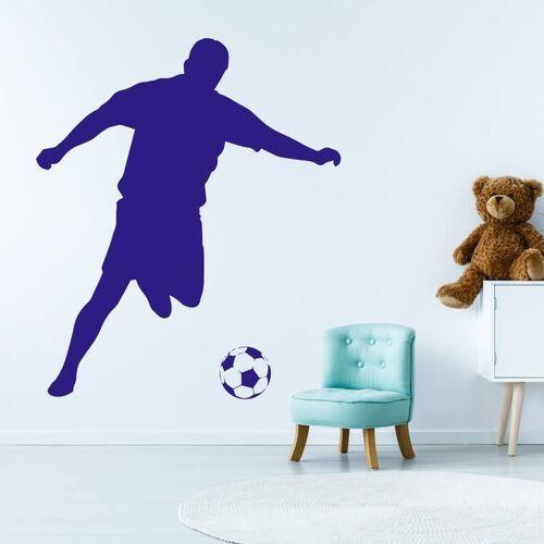 Naklejka na ścianę dla dzieci piłkarz 2486