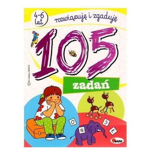 105 zadań. Rozwiązuję i zgaduję (4-6 lat) Piotr Kozera, Jolanta Czarnecka (9788372505583)