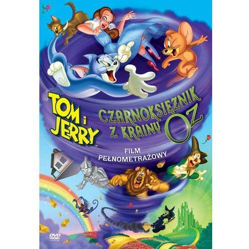Tom i jerry: czarnoksiężnik z krainy oz (dvd) marki Galapagos
