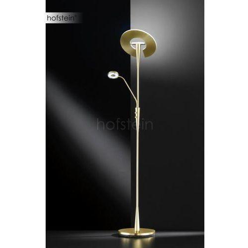 Trio-Leuchten Quebec Lampa Stojąca LED Mosiądz, 2-punktowe - Nowoczesny - Obszar wewnętrzny - QUEBEC - Czas dostawy: od 3-6 dni roboczych, kolor Brązowy