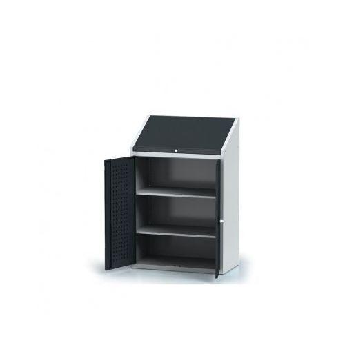 Szafa warsztatowa z nadstawką - 2 półki