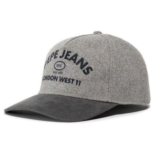 Pepe jeans Czapka z daszkiem - murray cap pm040465 grey marl 933
