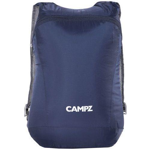 CAMPZ Ultralekki składany plecak Plecak 12l niebieski 2018 Plecaki szkolne i turystyczne (4052406210374)