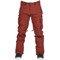 Bonfire Spodnie - tactical pant burgundy (bur)