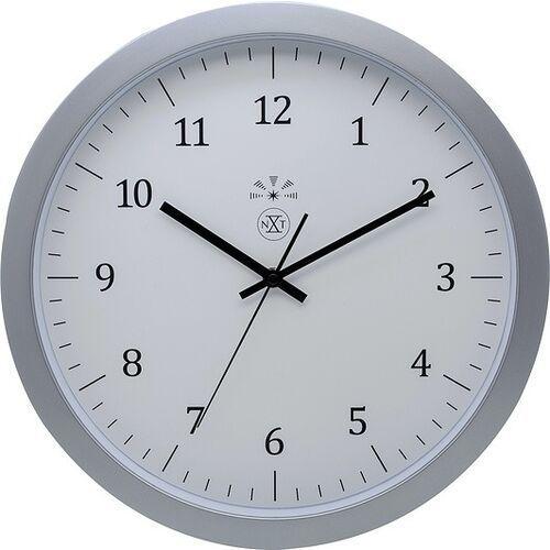 Nextime Zegar ścienny classic srebrny