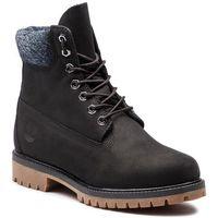 Trapery - premium 6 in waterproof boot tb0a1uej0011 black nubuck, Timberland, 40-46