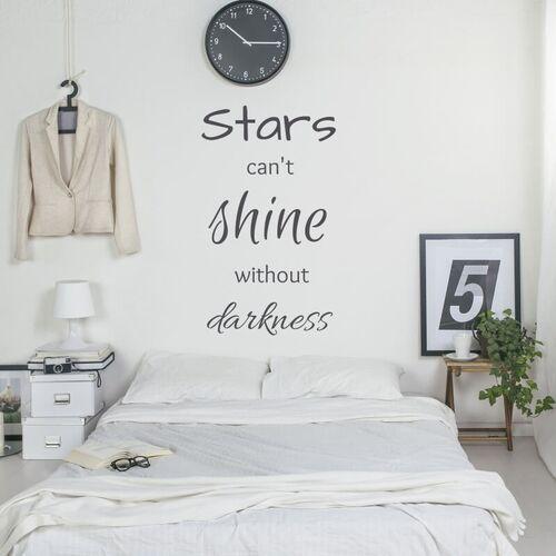 Szablon na ścianę Stars can't shine without darkness 2501