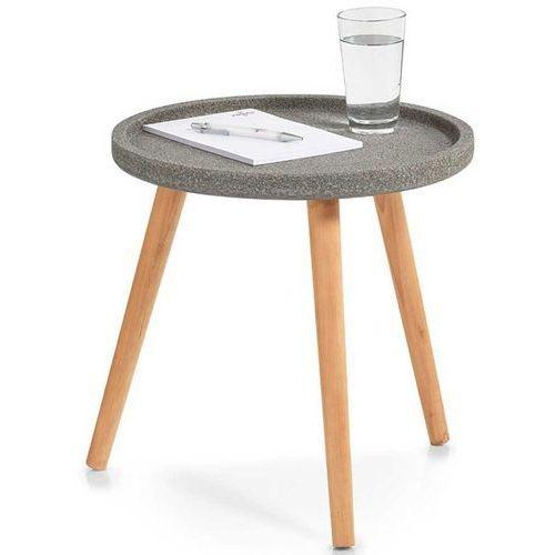 Stolik okolicznościowy, okazjonalny CONCRETE - pomocnik, Ø 40 cm, ZELLER