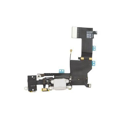 Gsm-parts Złącze gniazdo ładowania lightning mikrofon hf audio iphone 5s (biały)
