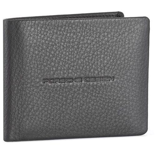 Porsche design Duży portfel męski - voyager 2.0 billfold h10 4090002592 black 900
